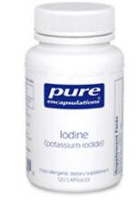 Pure Encapsulations Iodine (potassium iodide) 120 Vcaps -Exp date: 01/2019