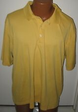Pga Tour - Yellow - Xxl - 100% Polyester - Short Sleeve - Golf Polo Shirt