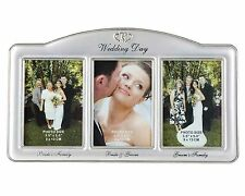 Wedding Party Photo Frame with 3 Openings