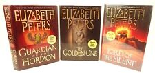 3 signed,1st edition Elizabeth Peters books.Golden One,Lord...Silent,Guardian...