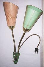 Rockabilly Tütenlampe Wandlampe 1950er 1960er vintage deko retro look !