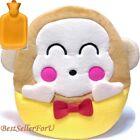 26-oz Sanrio Rubber Hot Water Bottle w/Cute Plush Cover Hand Warmer Warming Bag
