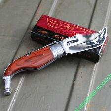 NAVAJA CAPAORA KNIFE MESSER STAMINA ROJA HOJA 9 CMS 01042 M04