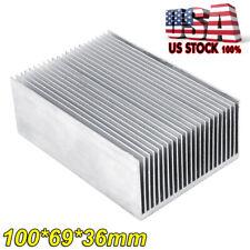 100x69x36mm Size Led Transistor Heatsink Heat Sink Cooling Fin Radiator Aluminum