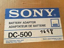 Sony DC-500 Battery Box -New