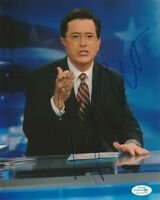 LATE SHOW STEPHEN COLBERT SIGNED 8x10 PHOTO #2 AUTOGRAPH ACOA COA EXACT PROOF!