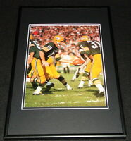 Bart Starr & Jim Taylor Packers Framed 12x18 Photo Display