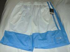 NWT Mens SPALDING Blue White Performance Athletic Basketball Shorts Size XL I-10