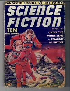 VINTAGE PULP MAGAZINE SCIENCE FICTION FIRST ISSUE !! MARCH 1939