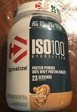 ISO 100  Hydrolyzed 100% Whey Protein Powder Isolate Peanut Butter 1.6lbs