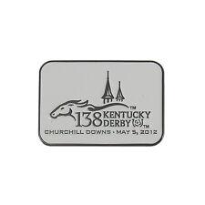 Kentucky Derby 138 White Logo Pin (2012). KLP1206 IMC-Retail