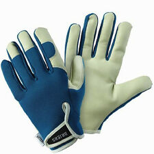 Small Briers Lady Gardeners Gloves Petrol Blue Ultra Soft Hard Wearing B6530