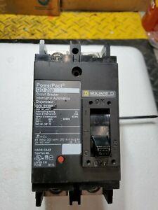 SQ D 200 AMP QDL22200  POWER PACT BREAKER