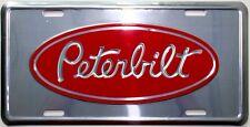 Peterbilt LICENSE PLATE EMBLEM TAG ram truck emblem semi logo diesel gear shop