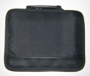Vintage COMPAQ 3/20 3/25 3/25C 4/25C Logo Soft Shell Carry Case Black Nylon v2