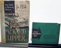 1954 Packard Clipper Owners Manual