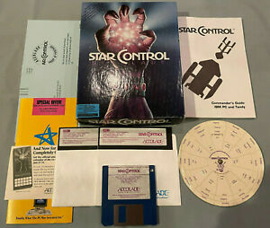 Star Control 1 1990 IBM/Tandy PC Computer ACcolate Video Game COMPLETE Big Box!