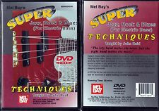 John Reid, Super Jazz, Rock And Blues Techniques For Electric Bass ,DVD Region 0