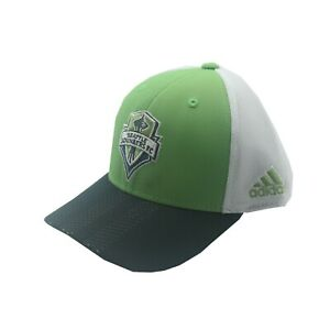 Seattle Sounders FC Official MLS Adidas Youth Boys OSFM Snap Back Hat Cap New