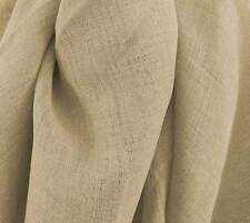 Drapery Upholstery Fabric Linen-Like Gauze Rustic Drapery Sheer Solid - Hemp