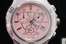 Cerruti 1881 Pink Dial with Diamonds High Tech Ceramic Women's Wristwatch
