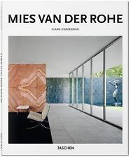 Mies Van der Rohe by Claire Zimmerman (2015, Hardcover)