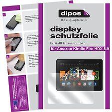 2x Amazon Kindle Fire HDX 8.9 Protector de Pantalla transparente