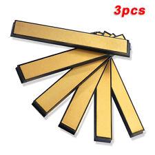 New listing 3pcs Edge Sharpening Diamond Whetstone Grinding Stone Sharpener 80 600 1000 Grit