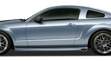 KBD Body Kits Eleanor 2 Pc Polyurethane Side Skirts For Ford Mustang 2005-2009