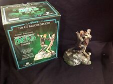 The Walking Dead Statue by CS Moore Studio Rick Grimes Zombie #93/1000 LE