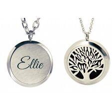 Personalisierte Lebensbaum Aromatherapie Ätherisches Öl Diffusor Halskette