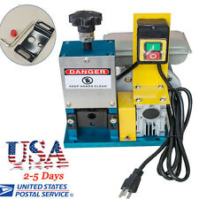 【US】Auto Powered Electric Wire Stripping Machine Scrap Cable Stripper Metal Tool