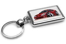 Renault Megane Coupe Red Premium Metal Key Ring