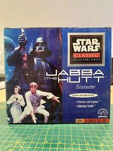 Applause STAR WARS Classic Collectors Series Jabba the Hutt Statuette LTD ED