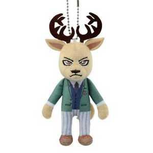 """#F71-119 Banpresto BEASTARS Mini Plush Stuffed toy 5"""" Louis"""