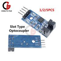 1/2/5PCS Slot Type IR Optocoupler Speed Sensor Module 3.3V-5V LM393 for Arduino