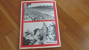 1963 Indy 500 Indianapolis race yearbook F. Clymers annual P. Jones wins Offy