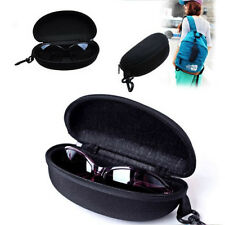 Zipper Eye Glasses Sunglasses Hard Case Storage Box Holder Portable Protector