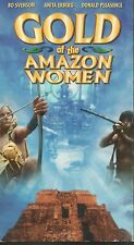 Gold of the Amazon Women VHS TAPE Bo Svenson Anita Ekberg FREE SHIPPING HTF OOP
