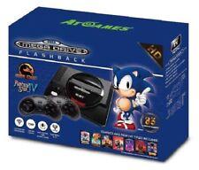 Consola Megadrive Flashback HD 85 juegos y ranura cartuchos MD Sega Mini