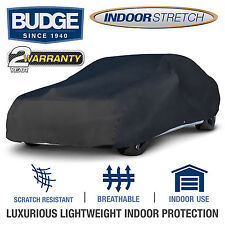 Indoor Stretch Fits Car Cover Fits Ford Mustang 1991, Black
