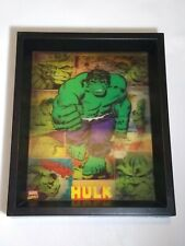Incredible Hulk 3D Lenticular Framed Picture Moving Art Marvel Comic Super Hero