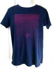 Rhythm is Everything Mens Medium T Shirt Rhythm Brand Short sleeves Navy Blue
