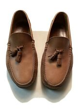 MEPHISTO AIR RELAX SPINNAKER OXFORD BOAT SHOES BROWN LEATHER MEN SIZE 9