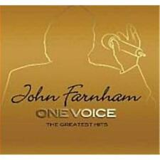 JOHN FARNHAM ONE VOICE The Greatest Hits 2 CD NEW