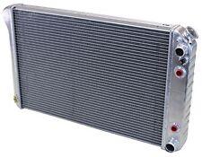 MuscleRods 63-66 GM Truck LS swap radiator - auto trans - bare aluminum