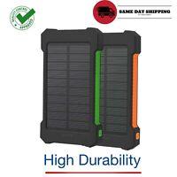 High Capacity Charger 16000mAh Water Resistant Solar Power Bank Mobile Powerbank