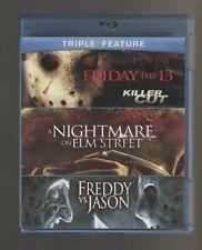 Friday the 13th: Killer Cut, Freddy vs. Jason, Nightmare On Elm Street - Blu-ray