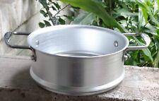 "Orgreenic Aluminium Steamer Insert Cookware With Handles 8.5"" Diameter"