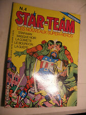 MARVEL DC Comics FRANCE BD EUREDIF les Nouveaux Super Heros STAR TEAM  n° 4
